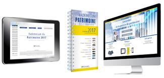 Le vademecum du patrimoine est disponible en livre, en ePub et en accès en ligne.